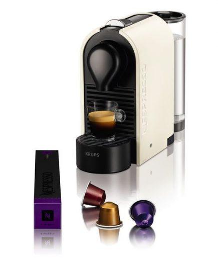 xekios Cafetière à capsules Krups XN2501 U Nespresso 19 bar 0,7 L 1260W Crème