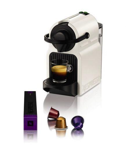 xekios Cafetière à capsules Krups XN1001 Inissia Nespresso 19 bar 0,7 L 1260W Blanc