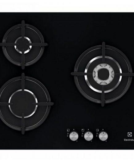 xekios Plaque à Induction Electrolux EGT6633NOK 60 cm Noir (3 cuisinière)