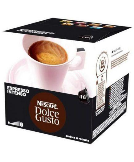xekios Capsules de café avec étui Nescafé Dolce Gusto 26406 Espresso Intenso (16 uds)