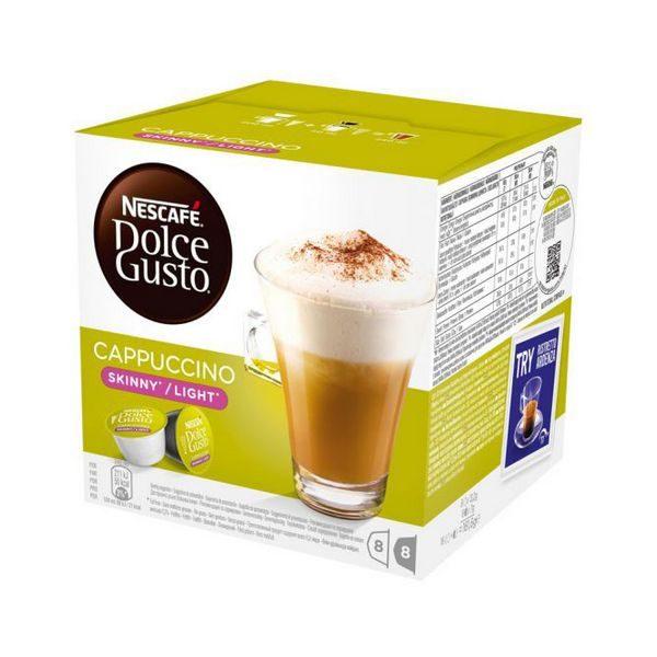 xekios Capsules de café avec étui Nescafé Dolce Gusto 87377 Cappuccino Light (16 uds)