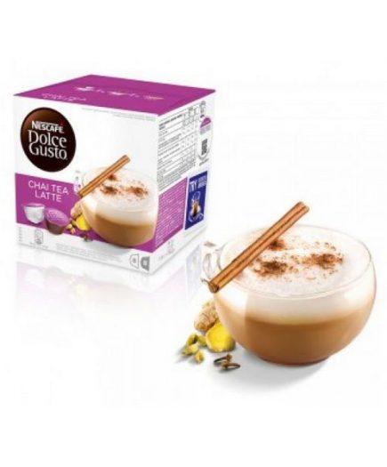 xekios Capsules de café avec étui Nescafé Dolce Gusto 13065 Chai Tea Latte (16 uds)