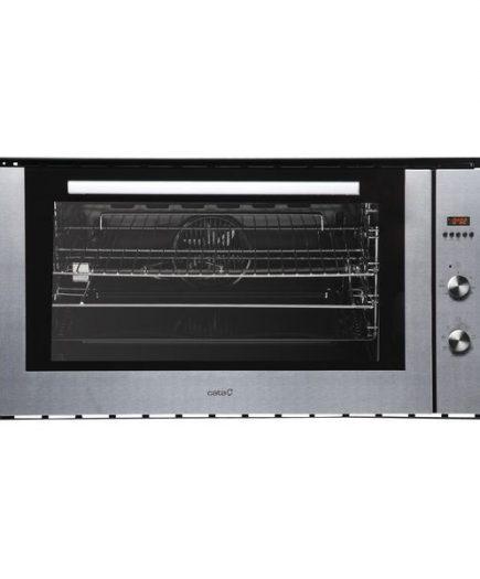 xekios Four multifonction Cata ME910 90 cm 105 L 3000W Acier inoxydable