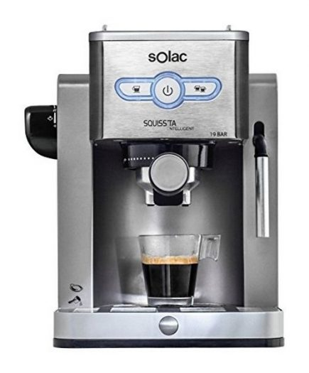 xekios Café Express Arm Solac CE4494 New Squissita Intelligent 19 bar 1,25 L 900W Argenté Acier inoxydable