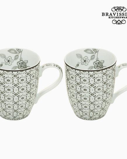 xekios Ensemble de 2 mugs - Collection Queen Kitchen by Bravissima Kitchen