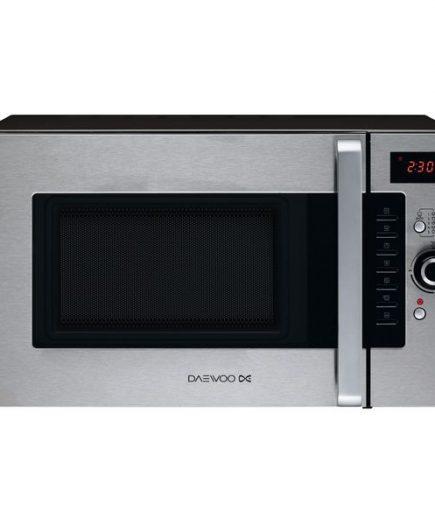 xekios Micro-ondes avec Gril Daewoo 1400W 28L Inox Acier