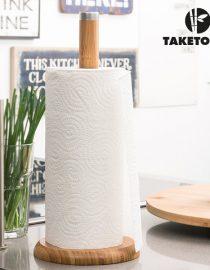 xekios Planche et Couteau à Couper le Pain Bambou TakeTokio