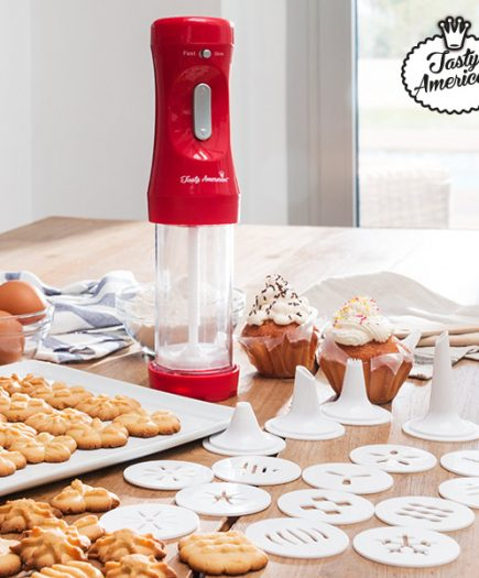 xekios Machine à Biscuits et Accessoires Tasty American