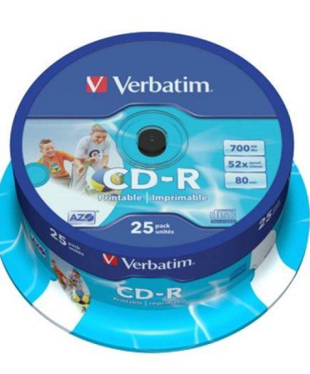 xekios CD-R Imprimable Verbatim 43439 700 MB 52x 25 pcs
