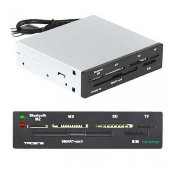 xekios Lecteur de Cartes Interne Tacens ACR3 SIM Bluetooth CNI (Carte d'identité) Noir