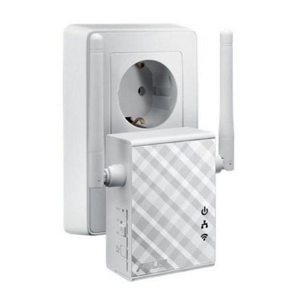 xekios Point d'Accès Répéteur Asus 90IG01X0-BO210 N300 10 / 100 Mbps 2 x 2 dBi