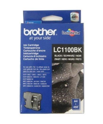 xekios Cartouche d'encre originale Brother LC1100BK Noir