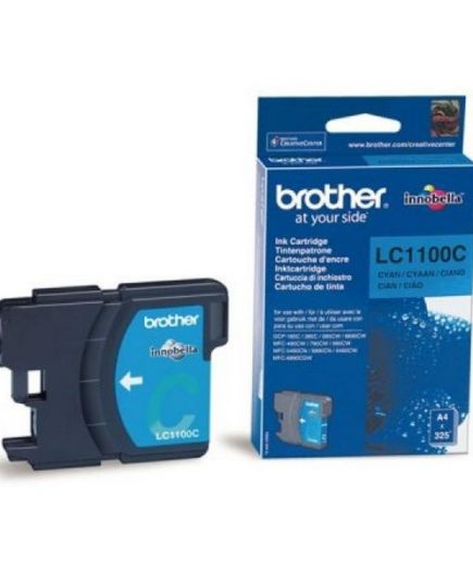 xekios Cartouche d'encre originale Brother LC1100C Cyan