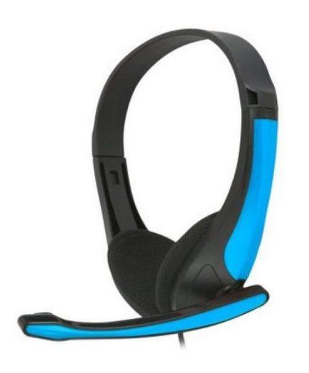 xekios Casques avec Microphone Omega Freestyle FH4088BL Bleu