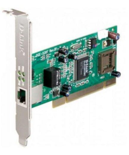 xekios Carte Réseau D-Link DGE-528T PCI 10 / 100 / 1000 Mbps
