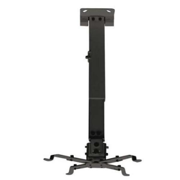 xekios Support de Toit Inclinable pour Projecteur TooQ PJ2012T 20kg 13 - 65 cm -15º/+15º Noir