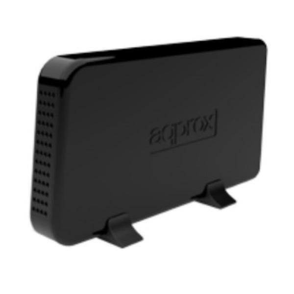 xekios Boîtier Externe approx! appHDD08B 3.5 USB 3.0 SATA I / II Noir