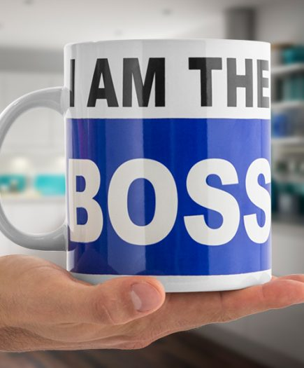 xekios Tasse XL I Am the Boss