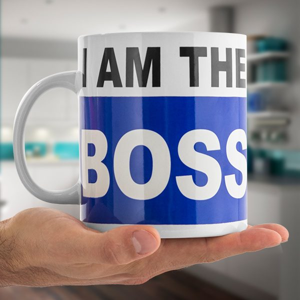 xekios Tasse XL I Am the Boss