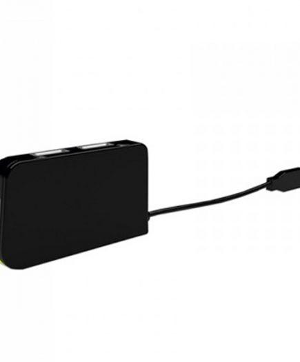 xekios Hub USB 4 Ports approx! APPHT4BK USB 2.0 Noir