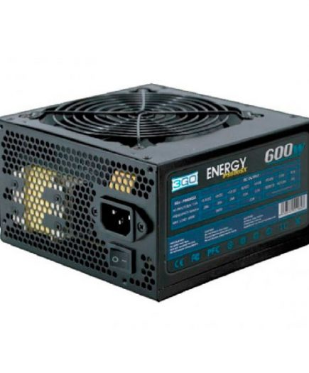 xekios Bloc d'Alimentation 3GO PS600SX ATX 600W Noir mat