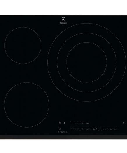 xekios Plaque à Induction Electrolux LIT60346 60 cm Noir (3 zones de cuisson)