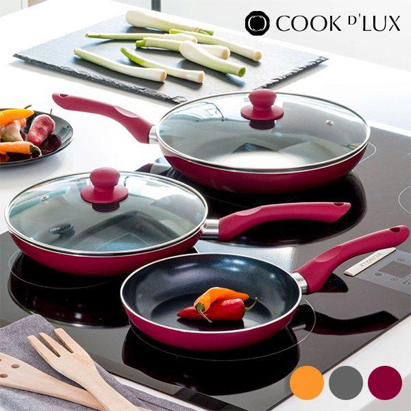 xekios Poêles en céramique Cook D'Lux (5 pièces)