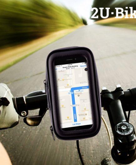 xekios Étui avec Support de Portable pour Vélos U2-Bike