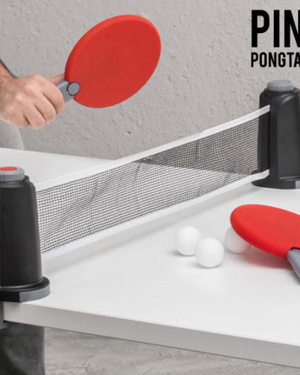 xekios Jeu de Table Portable Ping Pongtable