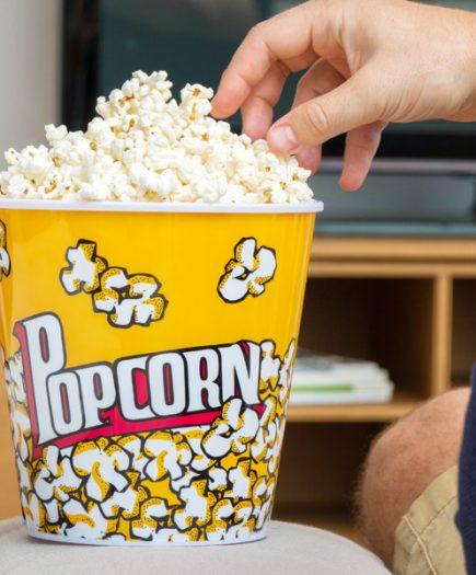 xekios Sceau à Pop-corn Popcorn