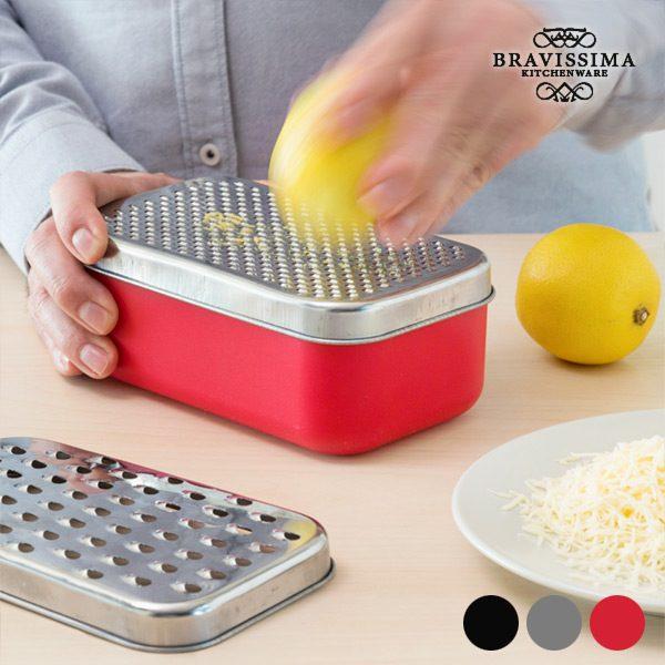 xekios Râpe avec Boîte 2 en 1 Bravissima Kitchen (4 pièces)