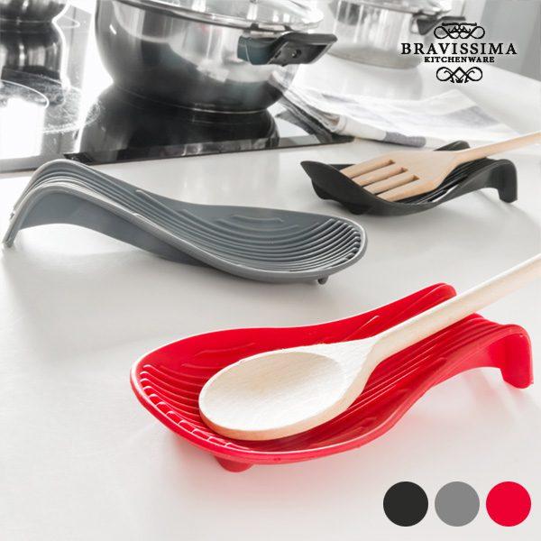 xekios Repose-cuillères en Silicone Bravissima Kitchen
