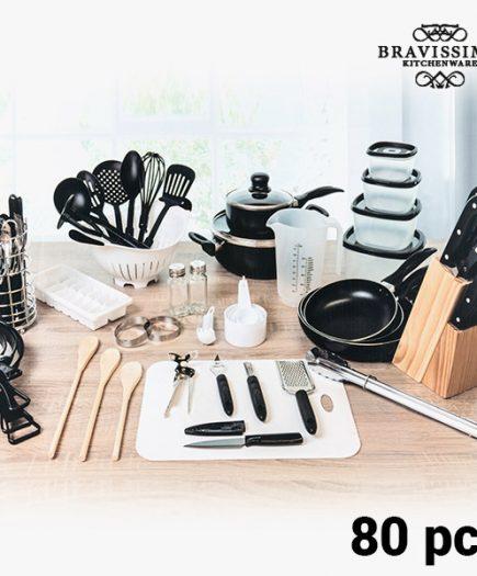 xekios Kit de Cuisine Bravisima Kitchen (80 pièces)