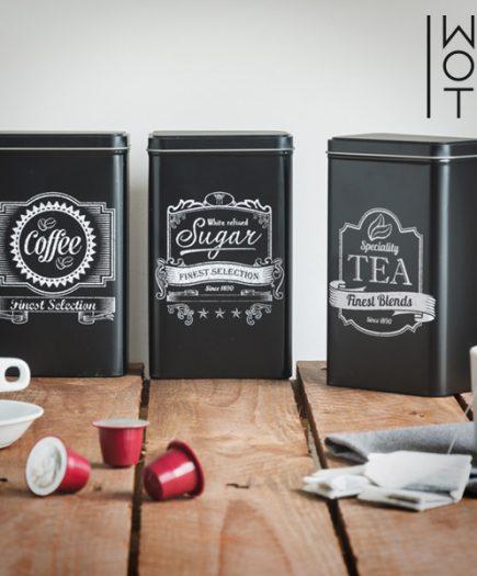 xekios Boîtes Métalliques de Cuisine Wagon Trend (pack de 3)