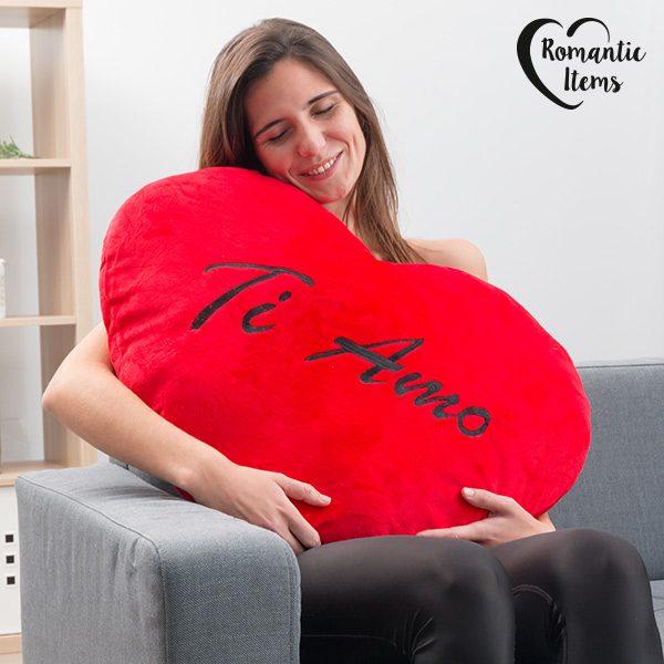xekios Coeur en Peluche Géant Ti Amo Romantic Items