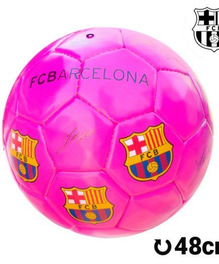 xekios Ballon de Football Moyen Rose FC Barcelone