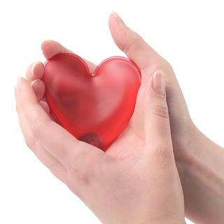 xekios Chauffe Mains en forme Coeur