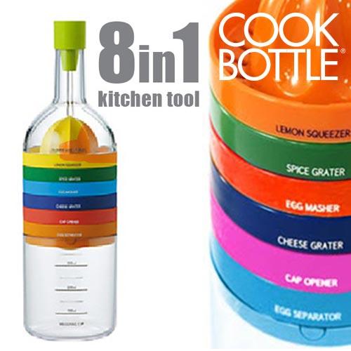 xekios Ustensiles de Cuisine Cook Bottle