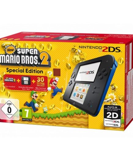 xekios Nintendo 2DS HW + New Super Mario Bros Nintendo 221839 Bleu