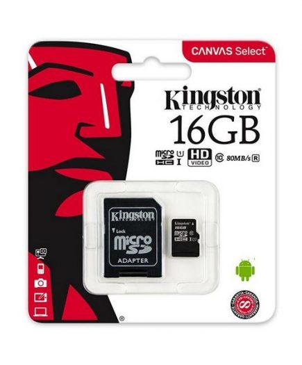 xekios Carte Micro SD Kingston SDCS/16GB 16 GB