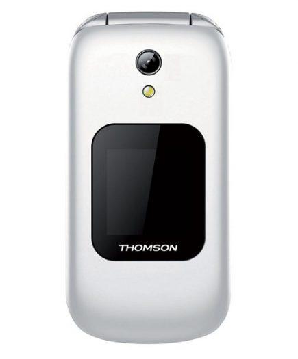 xekios Téléphone portable pour personnes âgées Thomson 223168 2,4 SMS MP3 USB Bluetooth 2 mpx