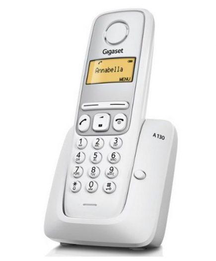 xekios Téléphone Sans Fil Gigaset A130B Argenté Blanc