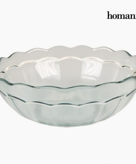 xekios Bol en Verre Recyclé Grand Transparent - Collection Pure Crystal Kitchen by Homania