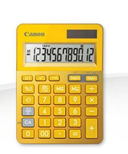 xekios Calculatrice Canon FEMMIN0220 LS-123 Jaune