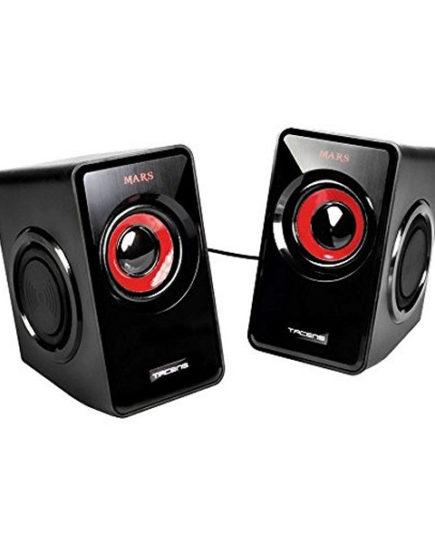 xekios Haut-parleurs pour jeu Tacens MS1 MS1 Noir Rouge