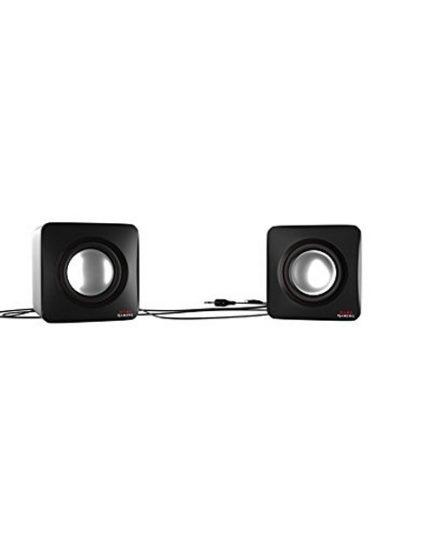 xekios Haut-parleurs pour jeu Tacens MAS0 2.0 USB 8W Noir Rouge
