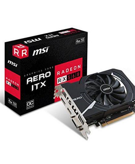 xekios Carte Graphique MSI VGA AMD RX 560 AERO ITX 4G OC 4 GB DDR5