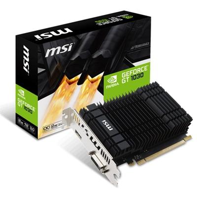 xekios Carte Graphique MSI ITGPE50505 VGA NVIDIA GeForce GT 1030 2 G 1265 MHz 1518 MHz