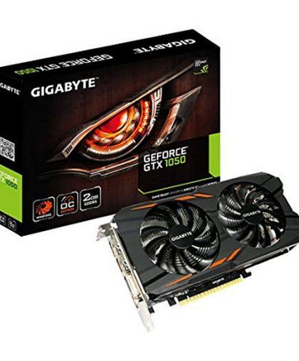 xekios Carte Graphique Gigabyte VGA NVIDIA GTX 1050 WF2 OC 2 GB DDR5