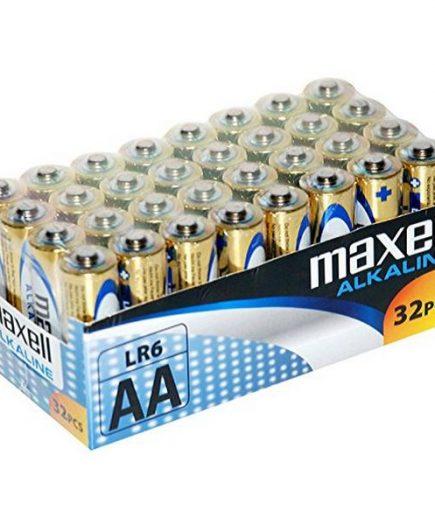 xekios Piles Alcalines Maxell MXBLR06P32 LR06 AA 1.5V (32 pcs)